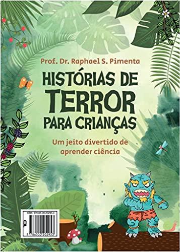 HISTÓRIAS DE TERROR PARA CRIANÇAS: Um jeito divertido de aprender ciência