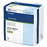 Curity Youth Pants Youth Pull-On Diapers, Small/Medium 17