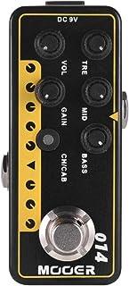 Muslady Mooer MICRO PREAMP Serie 014 Taxidea Taxus Preamplificador digital clásico de preamplificador Pedal de efectos de guitarra Canales duales EQ de 3 bandas con True Bypass