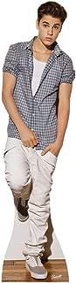 Justin Bieber Checkered Shirt Lifesize Standup Cutout Poster SC580