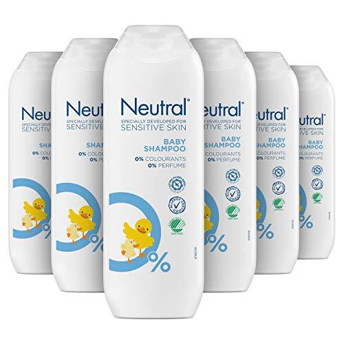 Neutral Baby Shampoo Parfumvrij 6 x 250 ml Voordeelverpakking