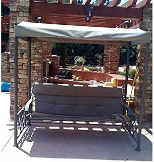 Deluxe Patio Glider Swing Replacement Canopy Top Cover