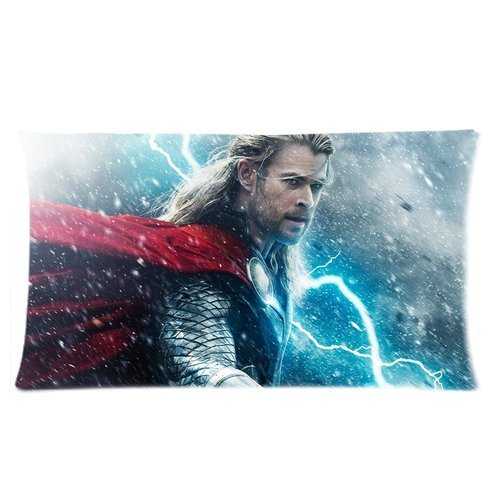 Korting Chris Hemsworth Cool Man Pictures Katoen Rechthoek Kussenslopen bed Slaapbank Standaard Grootte 20