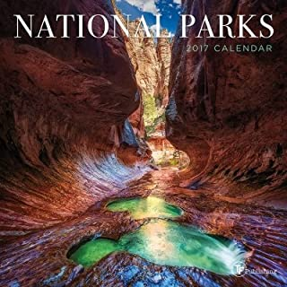 TF Publishing 2017 National Parks Mini Calendar (17-2093)