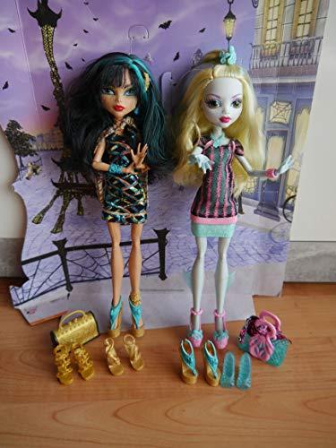 Monster High - Muñecas Scaris - Lagoona Blue + Cleo de Nile