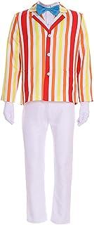 CosplayDiy Men's Costume Uniform for Mary Poppins Bert Cosplay