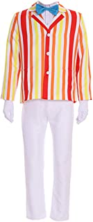 Men's Costume Uniform for Mary Poppins Bert Cosplay