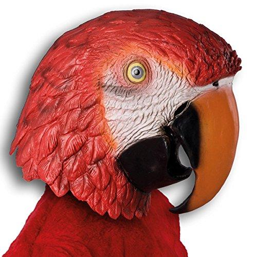 Carnival Toys Masque Perroquet géant en Latex pour déguisement d'animal