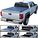 Autozensation For F150 StyleSide TriFold Tonneau Cover 6.5ft Short Bed