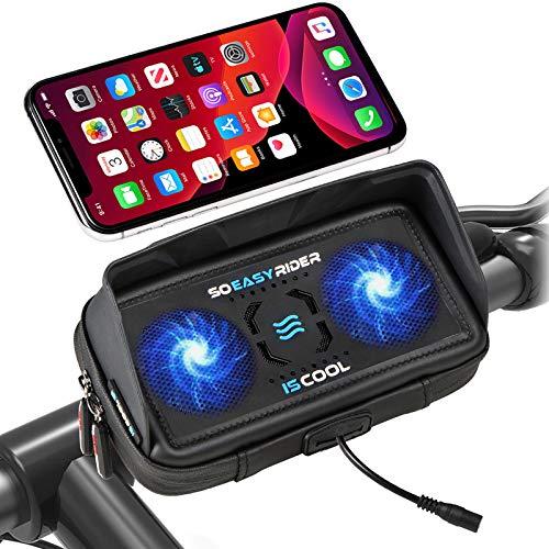 So Easy Rider 9 en 1 Soporte Móvil para Moto Bici Scooter...