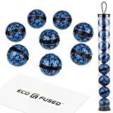 eco-fused deodorizing balls for sneakers, lockers, gym bags - 8 pack - neutralizes sweat odor -