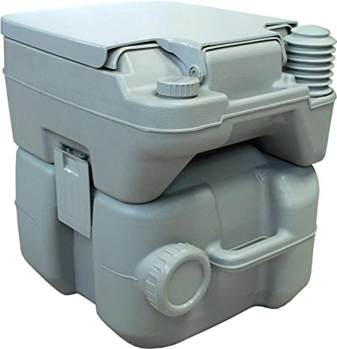 Rulyt CHEM-WC-20 WC químico, Capacidad 12/20 litros, Gris, Talla única
