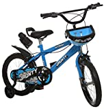 Outdoor Boys Sports Bicycle for 4 to 6 Years (Blue, 16 Inch)
