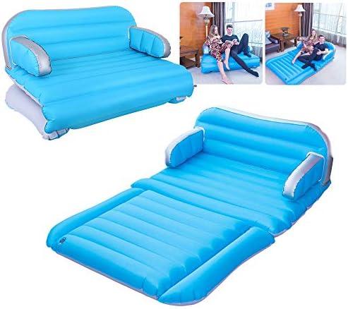 QDH air Mattress Inflatable Couch Home Air Sofa Bed Outdoor Inflatable Chair 4 in 1 Car Inflatable product image