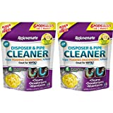 Rejuvenate Garbage Disposal and Drain Pipe Cleaner Powerful Foaming Action and Removes Garbage Disposal Smells 6 Unit Pack Lemon Scent (2 Pack)