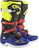 Alpinestars Crosslaarzen Tech 5 Blue/Black/Fluor Yellow/Red-40.5 (EU)