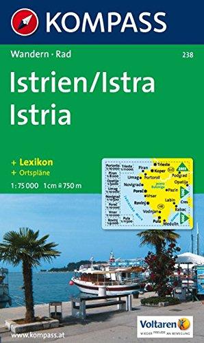 Kompass Karten, Istrien