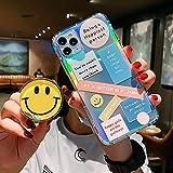 Support Mignon 3D Smiley pour Samsung Galaxy A50 A51 A70 A71 A10 A30 S8 S9 S10 S10e S20 S21 Plus S21...