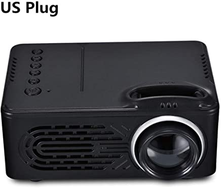 $229 Get hiriyt Leisure 814 Mini Projector, Portable Home Movie Cinema, 1080P Supported, Compatible with HDMI,USB,SD