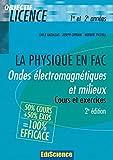 Ondes électromagnétiques et milieux - Cours et exercices corrigés