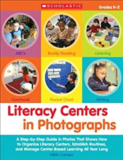 Scholastic Classroom Resources Literacy Centers in Photographs (SC500798)