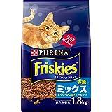 フリスキー ドライ お魚ミックス まぐろ・かつお・サーモン入り 1.8kg