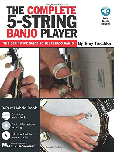 The Complete 5-String Banjo Player (Book CD) (Grv)