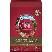 Purina ONE Smartblend Natural Dry Dog Food; Lamb & Rice Formula - 14 kg Bag