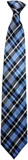 Men's Blue, Black and Grey Checkered Tie (Clip-on)