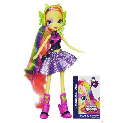 My Little Pony Equestria Poupée Fluttershy Girls - Rainbow Rocks