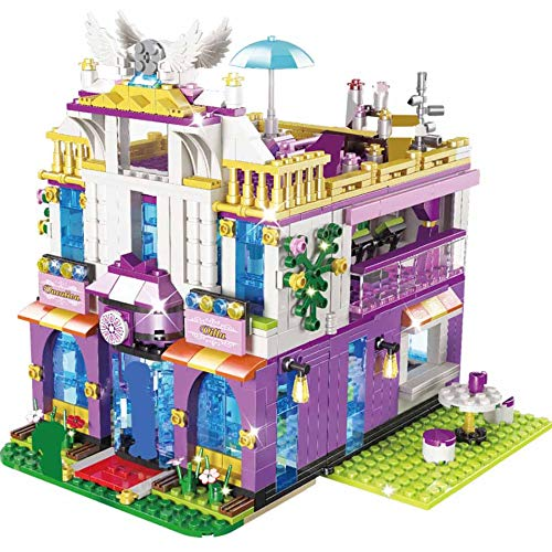 AEM 961PCS Bloques de construcción de Villa privada Compatible Friends Castle Bricks Niñas Princesa Casa Juguetes para niñas, 5588