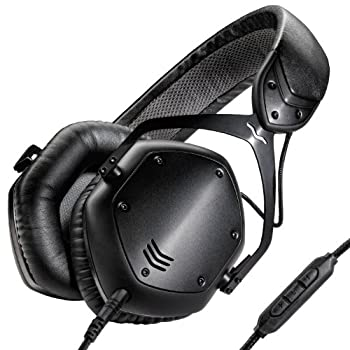 V-MODA Crossfade LP2 Limited Edition Over-Ear Noise-Isolating Metal Headphone  Matte Black   OLD MODEL   Discontinued by Manufacturer