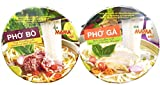Instant Rice Noodles Vietnamese Style Ramen Pho Variety Pack   Pho Bo (Beef), and Pho Ga (Chicken) 6...