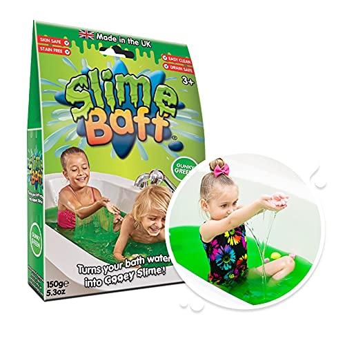 Slime Baff Schleimpulver für die Badewanne,150g,Grün