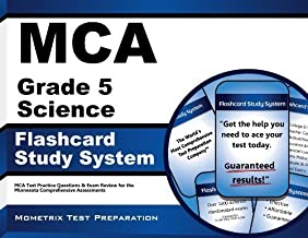 MCA Grade 5 Science Flashcard Study System: MCA Test Practice Questions & Exam Review for the Minnesota Comprehensive Assessments (Cards) by MCA Exam Secrets Test Prep Team (2013-02-14)