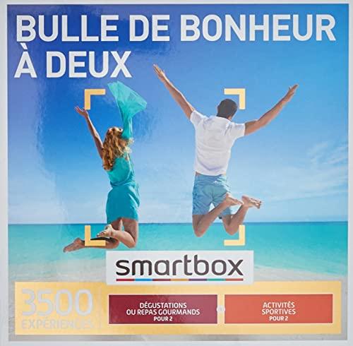 SMARTBOX - Coffret Cadeau Couple - Cadeau original pour un moment à deux à choisir parmi 3 500 activités gourmandes ou sportives