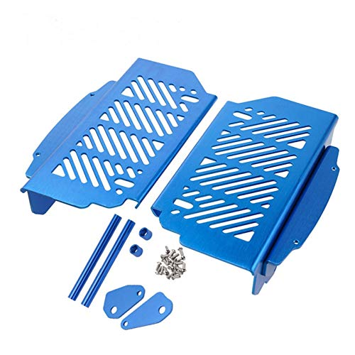 QAIK Kühlerschutzgitter-Schutz-Abdeckung Fits für Husqvarna Te FE TC TX FX FC 125 250 350 450 300 150 200 400 2020 2019 2018 2017 FE350 (Color : Blue)