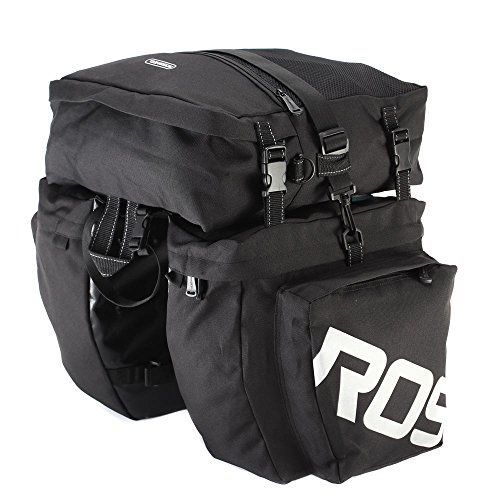 Docooler Multifunctionele bagagetas voor mountainbikes, 3-in-1 fietstas, voor de bagagedrager