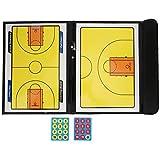 01 Tablero de Entrenador, Accesorios de Baloncesto Tablero de Entrenador de Baloncesto para orientación de Entrenamiento de Entrenadores de Baloncesto para Juego de Baloncesto