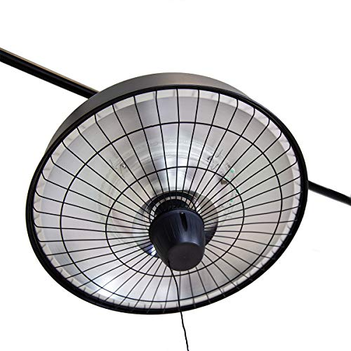 Charles Bentley 2500w Hanging Electric Infrared Patio Heater Outdoor Heaters & Fire Pits