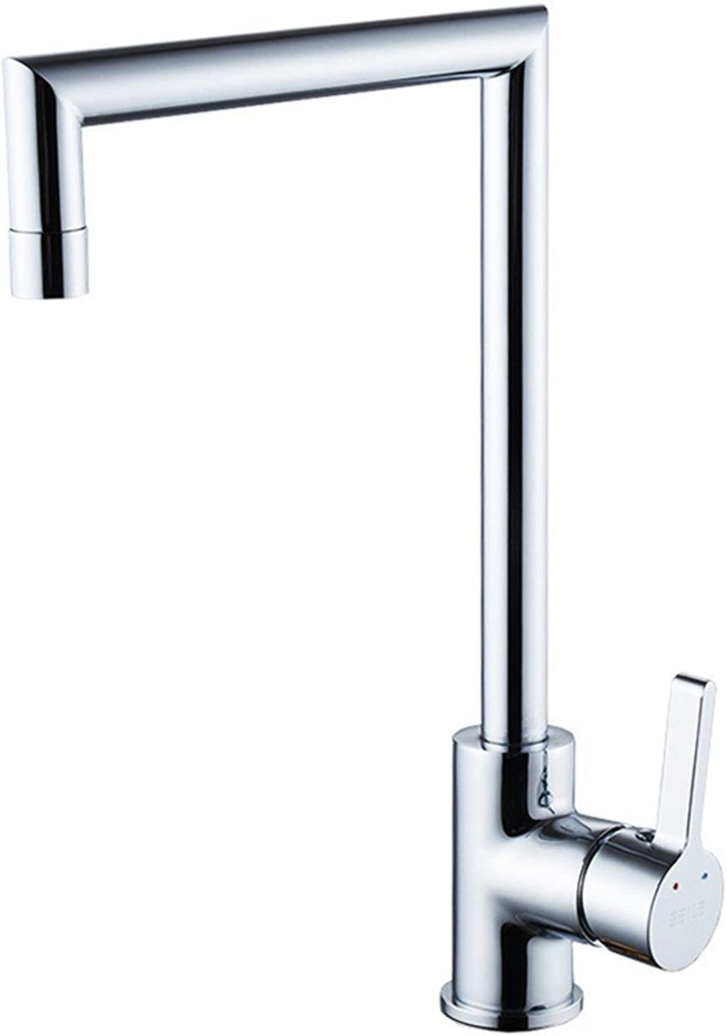 Decorry Kitchen Faucet Cold and Hot Single Hole Wash Basin Faucet