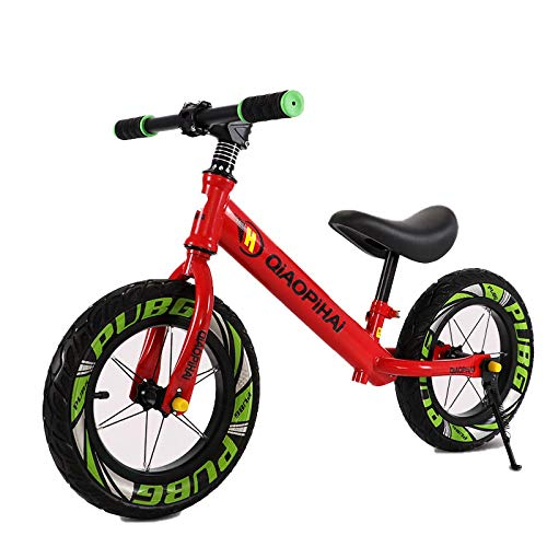 Kupper 12' Balance Bike Carbon Steel Frame No Pedal Pedal Balance Bike Training For Kids and Toddlers 2-To 6 Years Old. Seisestrellas.