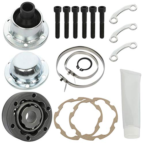 LSAILON Drive shaft CV Joint Rebuild Kit replacement for Jeep Dodge Liberty Nitro 3.7L 4.0L Front 2007-2011