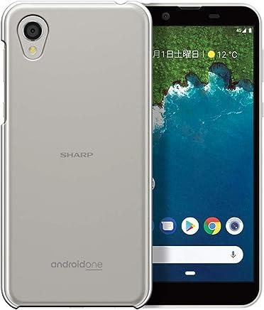 Android One S5 ケース SHARP アンドロイドワン S5 カバー (Ymobile/Softbank 兼用) ハードケース スマホケース ポリカーボネイト 液晶保護フィルム付 全機種対応 ★透明 [Breeze-正規品]