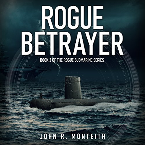 Rogue Betrayer audiobook cover art