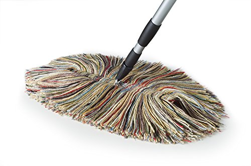 Sladust Big Wooly Mop With Metal Handle