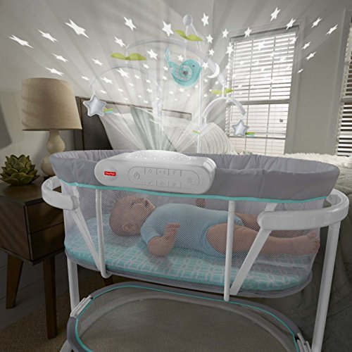 Fisher-Price Soothing Motions Bassinet, White