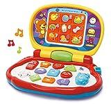 VTech-Mis primeras Teclas Ordenador Infantil con Tres Modos de Juegos Que enseña Animales, Colores,...