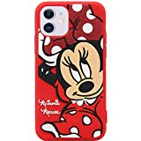 MC Fashion iPhone 11 Case, Cute 3D Cartoon Shockproof Case, Full-Body Slim Fit Protective Soft Silicone Case for Apple iPhone 11 6.1 inch 2019 (Minnie Mouse)
