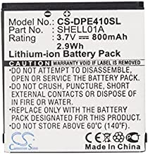 XPS Replacement Battery Compatible with Doro PhoneEasy 409 409GSM 410 410GSM 605 PhoneEasy 605GSM PhoneEasy 610 PhoneEasy 610GSM PhoneEasy 612 PhoneEasy 612GSM PN Care Clamshell SHELL01A